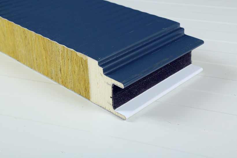 Rock wool panel sandwich panels bundesteel for Rockwool insulation properties