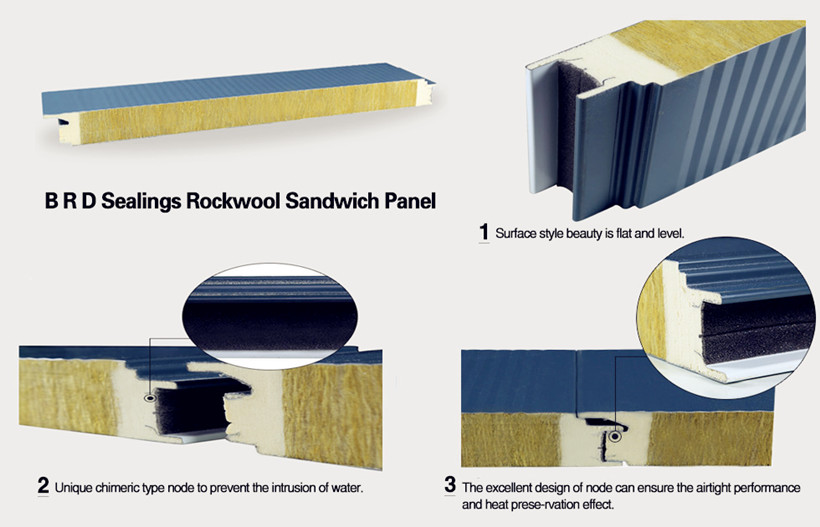 fire rated rock wool panel