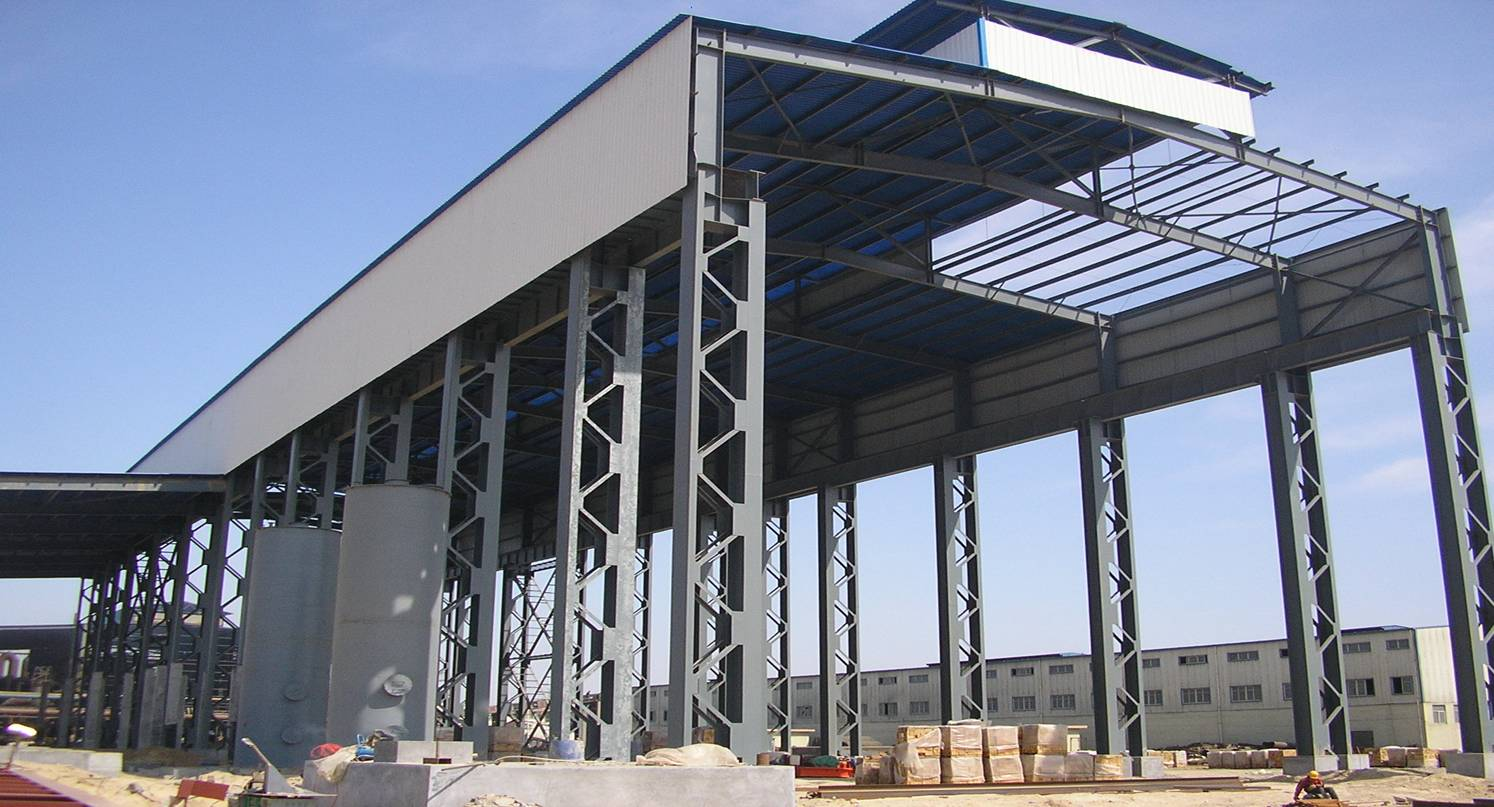 Knowledge base album steel structure sandwich panels - Estructura metalicas para casas ...