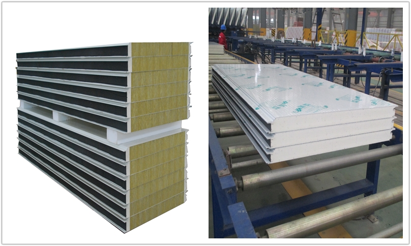 <b>The Comparison Between Rock Wool Sandwich Panel and PU Sandwich Panel</b>