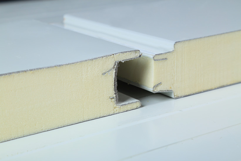 Insulation and fireproof material polyurethane panel to for Fireproof wall insulation