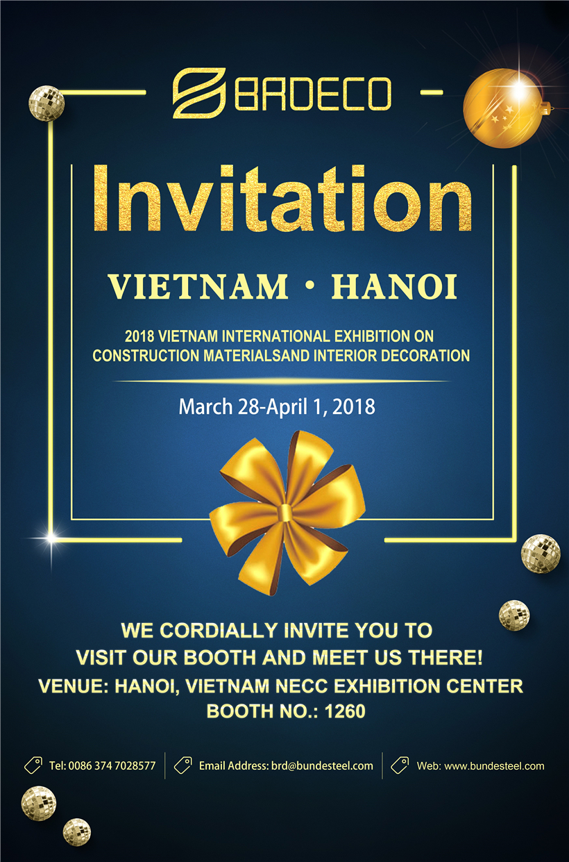 <b>2018 Vietnam International Exhibition On Construction Materials And Interior Decoration </b>
