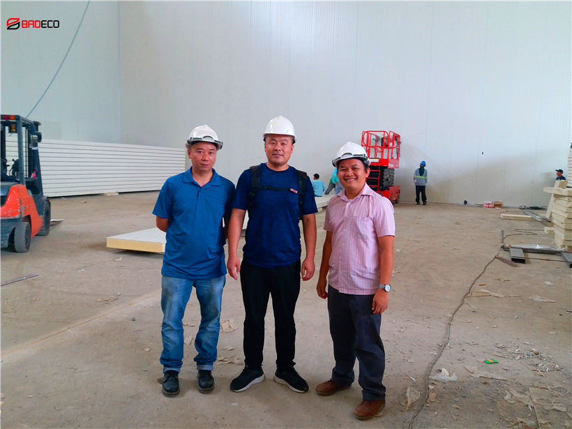 <b> BRD Cold Room Panel is Installing in Philippines</b>