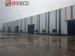 JingGong Project Adopted 50mm PU Rock Wool Sandwich Panel